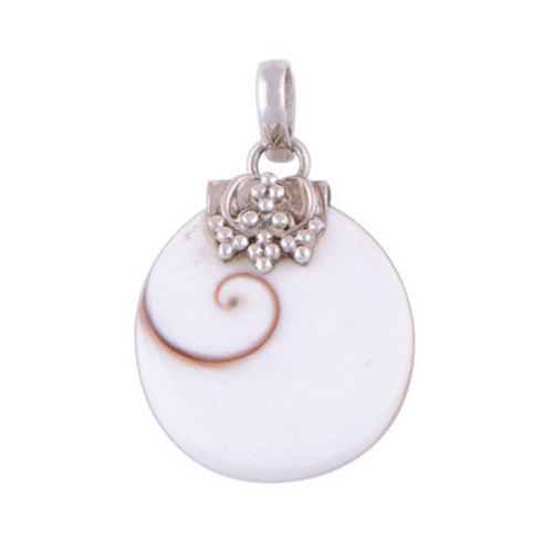The Shiva Eye Silver Pendant