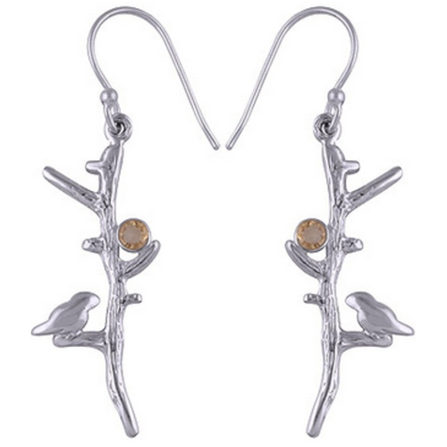 The Bird Silver Earring