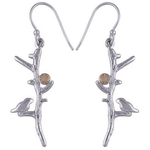 The Bird Silver Earring