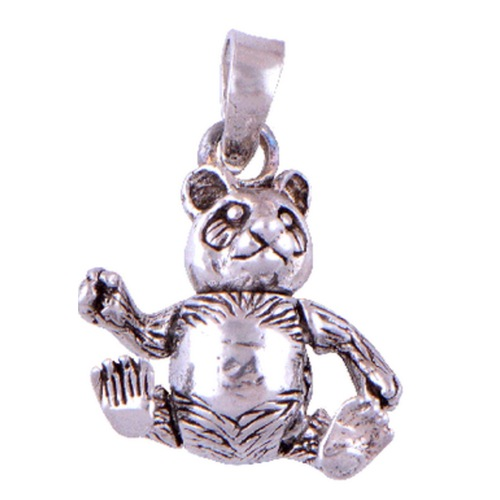 The Bear Silver Pendant