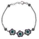 The Zirconia Silver Bracelet