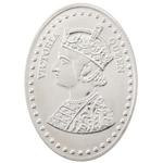 Silver Coin Victoria Queen 20 Gm 999 BIS Purity Hallmark