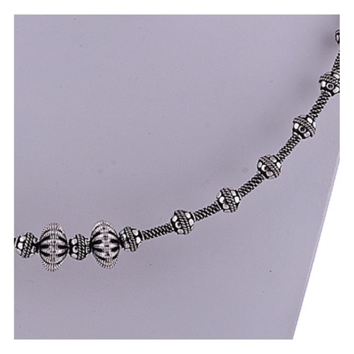 The Party Silver Necklace