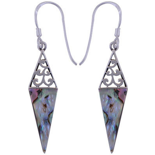 The Rainbow Spike Silver Earring
