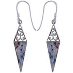 The Rainbow Spike Silver Earring