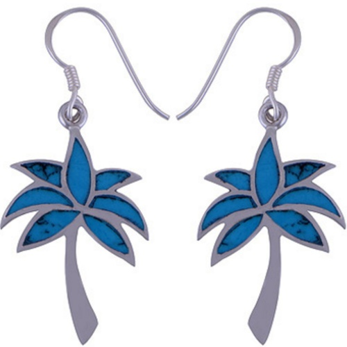 The Azure Tree Silver Earring