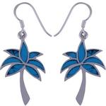The Azure Tree Silver Earring