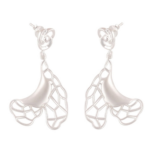 The Ballerinas Silver Earrings