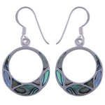 The Abalone Dangler silver Earring