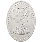 Silver Coin Victoria Queen 10 Gm 999 BIS Hallmarked Purity