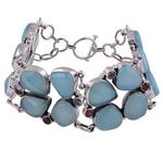 Trio Silver Bracelet