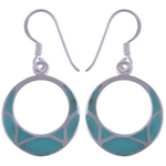 The Turquoise Dangler Silver Earring
