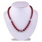The Carnelian Silver Necklace