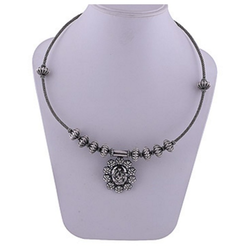 The Ganesha Silver Necklace