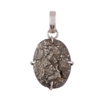 The Pyrite Cabochon Stone Pendant