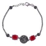 The Corundum Silver Bracelet