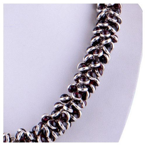 The Royale Silver Necklace