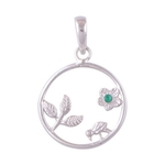 The Duckling Silver Pendant