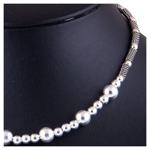 The Drop Silver Necklace