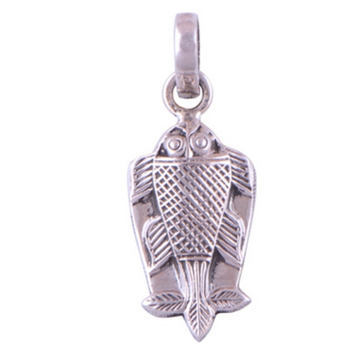 The Fish Silver Pendant