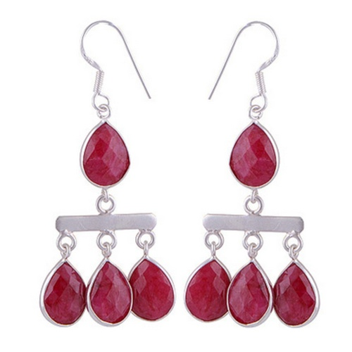 The Berry Silver Earring