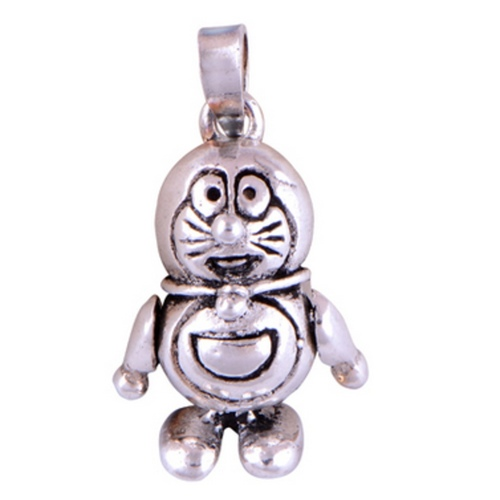 The Doremon Silver Pendant