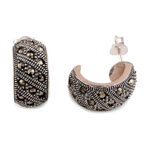 The Marcasite Silver Studs