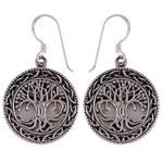 The Tree Of Life Silver Earring