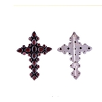 The Blooming Holy Cross Silver Brooch