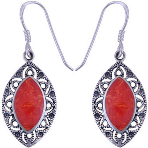 The Fire Eye Silver Earring