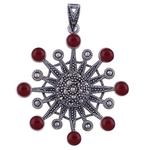 The Carnelian Silver Pendant