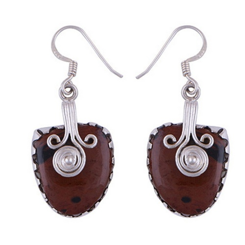 The Tribe Silver Earring