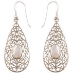 The Pasley Silver Earring