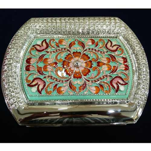 DECOR SILVER JEWELRY BOX