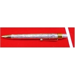 Silver Enclosed and 24Kt Gold Plated Pen