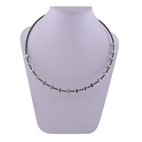 The Square Silver Necklace