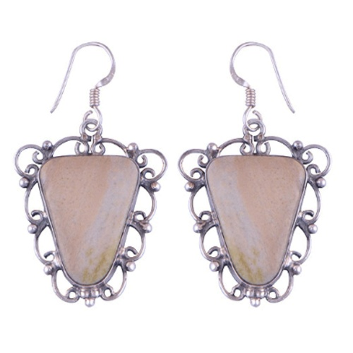 The Serenade Seraphinite Silver Earrings