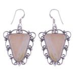 The Serenade Seraphinite Silver Earrings