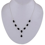 The Black Onyx Silve Necklace