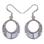 The Loop Silver Earring