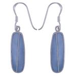 The Cyan Silver Earring