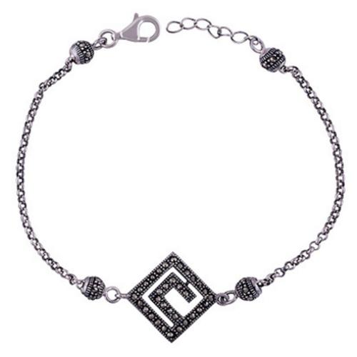 The Marcasite Silver Bracelet
