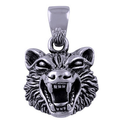 The Roar Silver Pendant