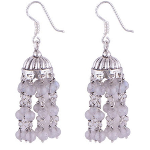 The Jhumki Silver Earring