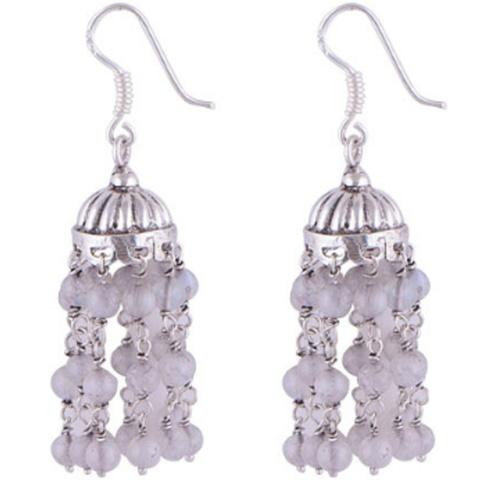 The Jhumki Silver Earring