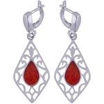 The Fire Silver Earring