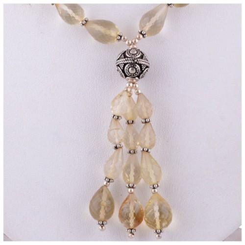 The Lemony Silver Necklace