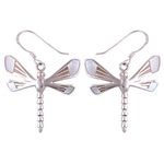 The Dragonfly Silver Earring