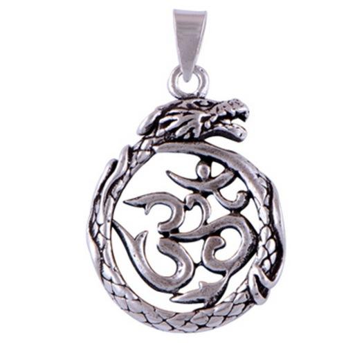 The Designer OM Silver Pendant
