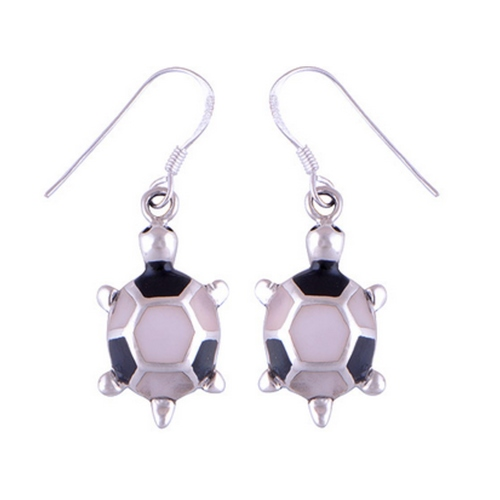 The Tortoise Silver Earring
